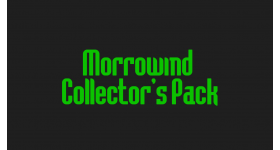 Morrowind Collector's Pack